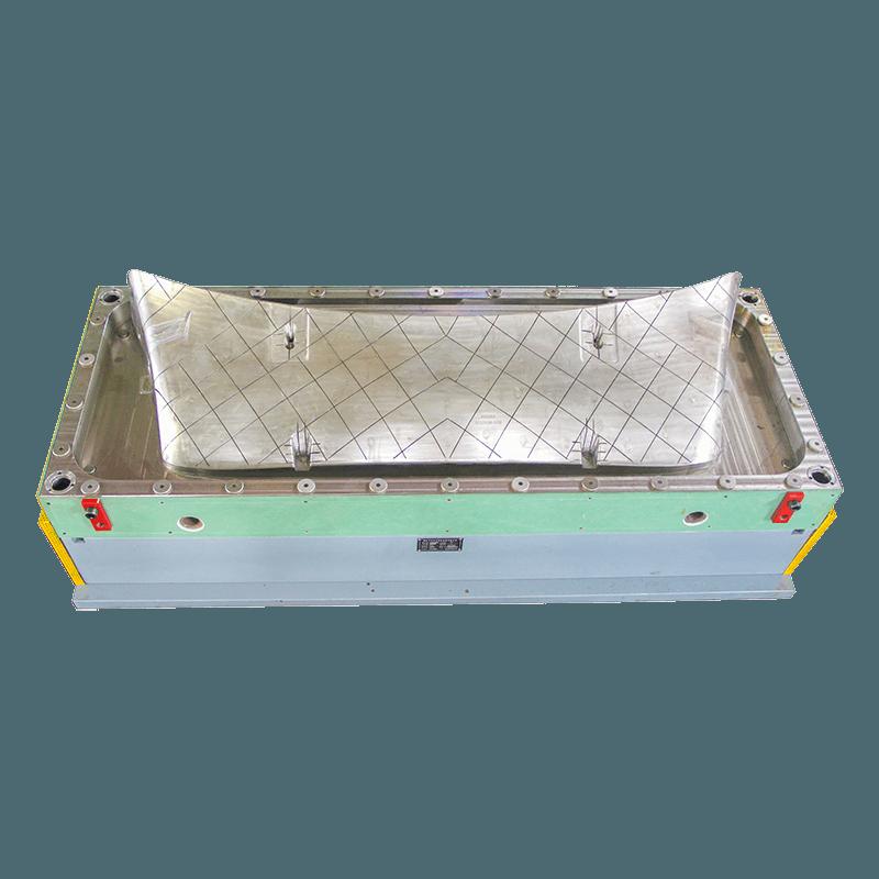 Air deflector mould