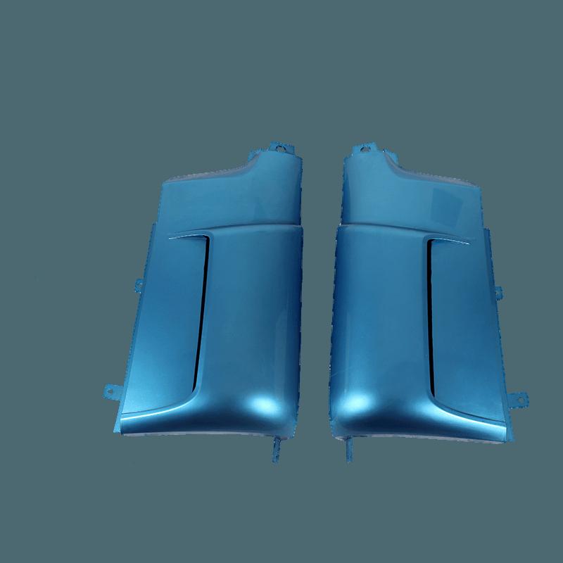 Side air deflector